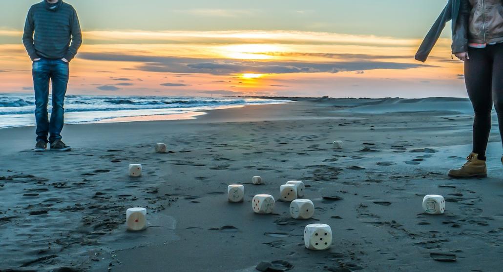Ambiance détanque plage